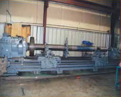 Engine Lathe 40ft. Long