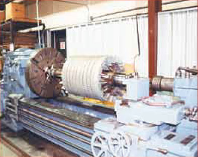 Engine Lathe Large and Small